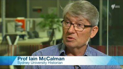 Prof Iain McCalman on HMS Endeavour